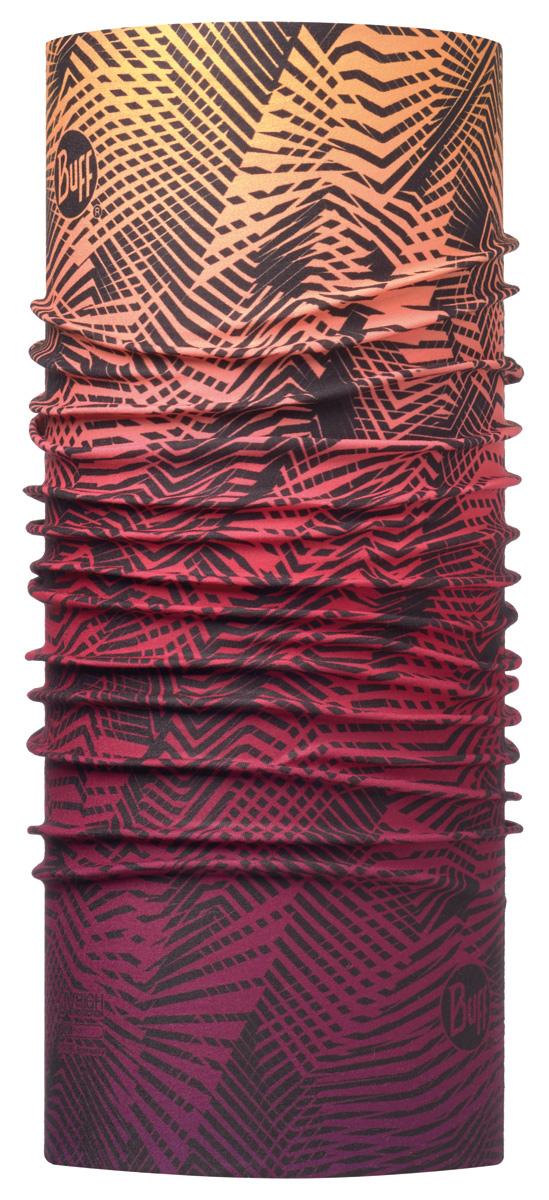 Бандана Buff High UV Meeko Multi, цвет: бордовый. 113624.555.10.00. Размер универсальный113624.555.10.00Buff - это оригинальные, мультифункциональные, бесшовные головные уборы - удобные и комфортные для любого вида активного отдыха и спорта. Оригинальные, потому что Buff был и является первым в мире брендом мультифункциональных, бесшовных и универсальных головных уборов. Мультифункциональные, потому что их можно носить самыми разными способами: как шарф, как шапку, как балаклаву, косынку, бандану, маску, напульсник и многими другими - решает Ваша фантазия! Универсальный головной убор, который можно носить более чем двенадцатью способами, который можно использовать при занятии любым видом спорта, езде на велосипеде и мотоцикле, катаясь или бегая на лыжах, и даже как аксессуар в городской одежде. Бесшовные, благодаря эластичности, позволяющей использовать эти головные уборы как угодно и не беспокоиться о том, что кожа может быть натерта или раздражена швами.