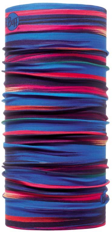Бандана Buff High UV Protection Erle, цвет: синий. 105828.00. Размер универсальный105828.00Buff - это оригинальные, мультифункциональные, бесшовные головные уборы - удобные и комфортные для любого вида активного отдыха и спорта. Оригинальные, потому что Buff был и является первым в мире брендом мультифункциональных, бесшовных и универсальных головных уборов. Мультифункциональные, потому что их можно носить самыми разными способами: как шарф, как шапку, как балаклаву, косынку, бандану, маску, напульсник и многими другими - решает Ваша фантазия! Универсальный головной убор, который можно носить более чем двенадцатью способами, который можно использовать при занятии любым видом спорта, езде на велосипеде и мотоцикле, катаясь или бегая на лыжах, и даже как аксессуар в городской одежде. Бесшовные, благодаря эластичности, позволяющей использовать эти головные уборы как угодно и не беспокоиться о том, что кожа может быть натерта или раздражена швами.
