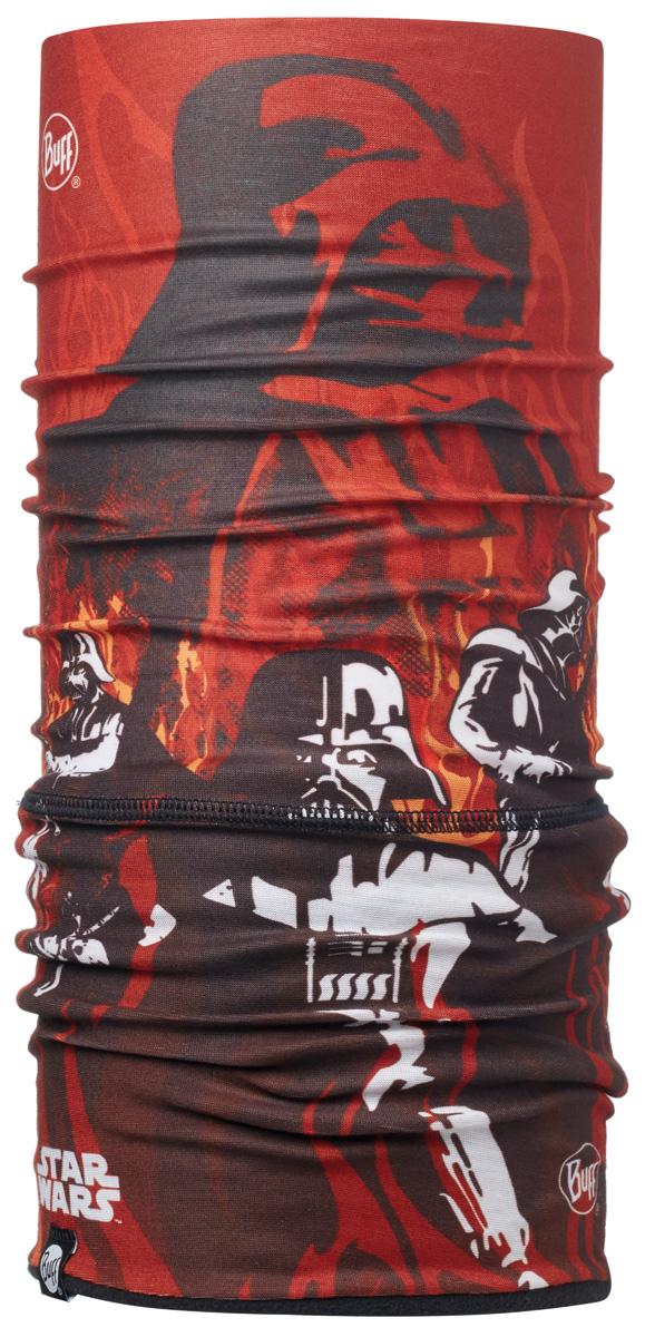 Бандана Buff Licenses Star Wars Jr Polar Shadow Flame / Black, цвет: красный. 113298.203.10.00. Размер универсальный113298.203.10.00Теплая бандана-шарф Polar Buff - это бандана-труба из серии Original Buff, пришитая к цилиндру из Polartec Classic Fleece 100. В холодную погоду Polar Buff поддерживает нормальную температуру тела и предотвращает потерю тепла, благодаря комбинации микрофибры и Polartec. Благодаря своей универсальности, функциональности и практичности Polar Buff завоевал огромную популярность среди людей, ее можно использовать как шапку, шарф, бандану на лицо и уши, балаклаву, маску. Неотъемлемая часть зимней одежды, подходит для любой активности в холодное время года.