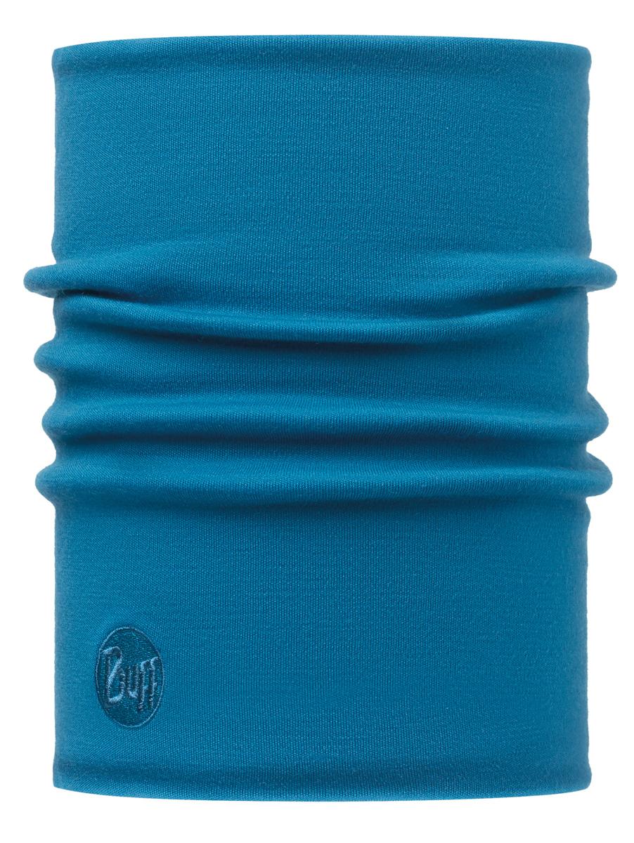 Бандана Buff Merino Wool Thermal SolIId Ocean-Ocean-Standard, цвет: синий. 113018.737.10.00. Размер универсальный113018.737.10.00Buff - это оригинальные, мультифункциональные, бесшовные головные уборы - удобные и комфортные для любого вида активного отдыха и спорта. Оригинальные, потому что Buff был и является первым в мире брендом мультифункциональных, бесшовных и универсальных головных уборов. Мультифункциональные, потому что их можно носить самыми разными способами: как шарф, как шапку, как балаклаву, косынку, бандану, маску, напульсник и многими другими - решает ваша фантазия! Универсальный головной убор, который можно носить более чем двенадцатью способами, который можно использовать при занятии любым видом спорта, езде на велосипеде и мотоцикле, катаясь или бегая на лыжах, и даже как аксессуар в городской одежде. Бесшовные, благодаря эластичности, позволяющей использовать эти головные уборы как угодно и не беспокоиться о том, что кожа может быть натерта или раздражена швами.