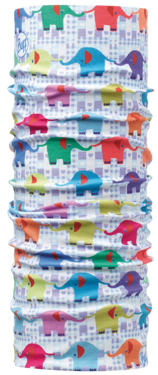 Бандана детская Buff Original Baby Elephant, цвет: голубой, розовый. 108136.00. Размер универсальный108136.00Идеально подходит для детей, которые любят носить многофункциональные и легкие вещи. Buff можно использовать круглый год для защиты от холода. Дети могут легко носить его с собой в кармане или рюкзаке.Особенности:- высокая эластичность, отсутствие швов, многофункциональная трубчатая форма, 100% микрофибра- хорошая воздухопроницаемость и отведение влаги- доступны размеры для самых маленьких- 100% полиэстер, микрофибра. Размер (обхват головы): 45-51 см.