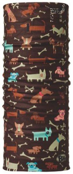 Бандана детская Buff Original Dogs, цвет: коричневый. 30184. Размер универсальный30184Buff - это оригинальные, мультифункциональные, бесшовные головные уборы - удобные и комфортные для любого вида активного отдыха и спорта. Оригинальные, потому что Buff был и является первым в мире брендом мультифункциональных, бесшовных и универсальных головных уборов. Мультифункциональные, потому что их можно носить самыми разными способами: как шарф, как шапку, как балаклаву, косынку, бандану, маску, напульсник и многими другими - решает Ваша фантазия! Универсальный головной убор, который можно носить более чем двенадцатью способами, который можно использовать при занятии любым видом спорта, езде на велосипеде и мотоцикле, катаясь или бегая на лыжах, и даже как аксессуар в городской одежде. Бесшовные, благодаря эластичности, позволяющей использовать эти головные уборы как угодно и не беспокоиться о том, что кожа может быть натерта или раздражена швами. Размер (обхват головы): 45-51 см.