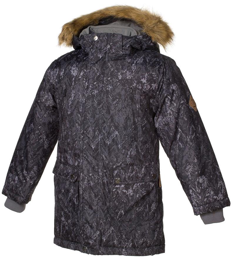Куртка для мальчика Huppa Vesper, цвет: черный. 17480030-73209. Размер 12817480030-73209Куртка для мальчика Huppa c длинными рукавами, воротником-стойкой и съемным капюшоном выполнена из высококачественного водонепроницаемого и ветрозащитного материала на основе полиэстера. Модель застегивается на застежку-молнию с защитой подбородка спереди и имеет ветрозащитный клапан на кнопках. Куртка дополнена светоотражающими элементами, все швы проклеены.