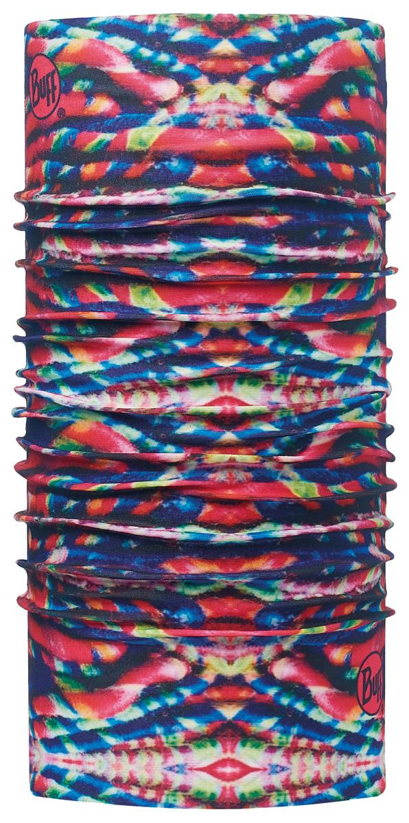 Бандана Buff Original Maya Multi-Multi-Standard, цвет: серый. 113086.555.10.00. Размер универсальный113086.555.10.00Buff - это оригинальные, мультифункциональные, бесшовные головные уборы - удобные и комфортные для любого вида активного отдыха и спорта. Оригинальные, потому что Buff был и является первым в мире брендом мультифункциональных, бесшовных и универсальных головных уборов. Мультифункциональные, потому что их можно носить самыми разными способами: как шарф, как шапку, как балаклаву, косынку, бандану, маску, напульсник и многими другими - решает Ваша фантазия! Универсальный головной убор, который можно носить более чем двенадцатью способами, который можно использовать при занятии любым видом спорта, езде на велосипеде и мотоцикле, катаясь или бегая на лыжах, и даже как аксессуар в городской одежде. Бесшовные, благодаря эластичности, позволяющей использовать эти головные уборы как угодно и не беспокоиться о том, что кожа может быть натерта или раздражена швами.