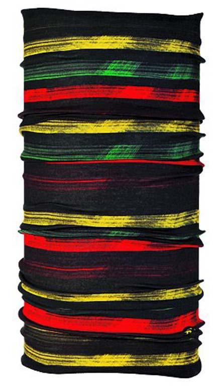 Бандана Buff Original Rasta Line, цвет: розовый. 100692/11660. Размер универсальный100692/11660Buff - это оригинальные, мультифункциональные, бесшовные головные уборы - удобные и комфортные для любого вида активного отдыха и спорта. Оригинальные, потому что Buff был и является первым в мире брендом мультифункциональных, бесшовных и универсальных головных уборов. Мультифункциональные, потому что их можно носить самыми разными способами: как шарф, как шапку, как балаклаву, косынку, бандану, маску, напульсник и многими другими - решает Ваша фантазия! Универсальный головной убор, который можно носить более чем двенадцатью способами, который можно использовать при занятии любым видом спорта, езде на велосипеде и мотоцикле, катаясь или бегая на лыжах, и даже как аксессуар в городской одежде. Бесшовные, благодаря эластичности, позволяющей использовать эти головные уборы как угодно и не беспокоиться о том, что кожа может быть натерта или раздражена швами. Размер (обхват головы): 53-62 см.