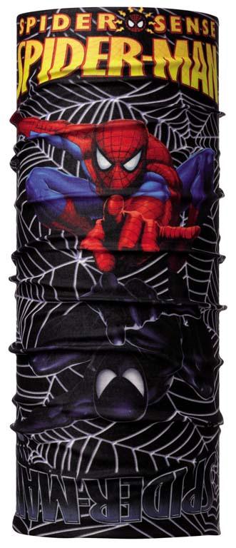 Бандана Buff Original Superheroes Junior Venom, цвет: черный. 101466.00. Размер универсальный101466.00Buff - это оригинальные, мультифункциональные, бесшовные головные уборы - удобные и комфортные для любого вида активного отдыха и спорта. Оригинальные, потому что Buff был и является первым в мире брендом мультифункциональных, бесшовных и универсальных головных уборов. Мультифункциональные, потому что их можно носить самыми разными способами: как шарф, как шапку, как балаклаву, косынку, бандану, маску, напульсник и многими другими - решает Ваша фантазия! Универсальный головной убор, который можно носить более чем двенадцатью способами, который можно использовать при занятии любым видом спорта, езде на велосипеде и мотоцикле, катаясь или бегая на лыжах, и даже как аксессуар в городской одежде. Бесшовные, благодаря эластичности, позволяющей использовать эти головные уборы как угодно и не беспокоиться о том, что кожа может быть натерта или раздражена швами. Размер (обхват головы): 53-62 см.