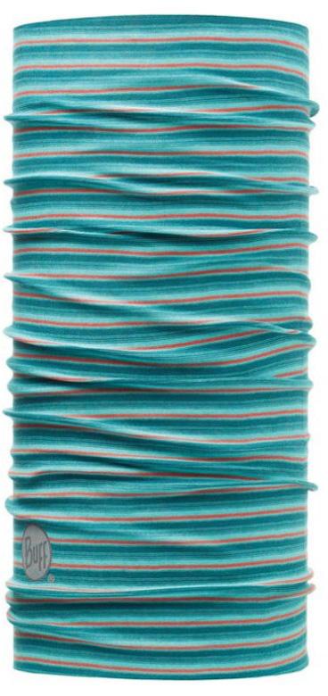 Бандана Buff Original Yarn Dyed Stripes Elton, цвет: голубой. 108009.00. Размер универсальный108009.00Buff - это оригинальные, мультифункциональные, бесшовные головные уборы - удобные и комфортные для любого вида активного отдыха и спорта. Оригинальные, потому что Buff был и является первым в мире брендом мультифункциональных, бесшовных и универсальных головных уборов. Мультифункциональные, потому что их можно носить самыми разными способами: как шарф, как шапку, как балаклаву, косынку, бандану, маску, напульсник и многими другими - решает Ваша фантазия! Универсальный головной убор, который можно носить более чем двенадцатью способами, который можно использовать при занятии любым видом спорта, езде на велосипеде и мотоцикле, катаясь или бегая на лыжах, и даже как аксессуар в городской одежде. Бесшовные, благодаря эластичности, позволяющей использовать эти головные уборы как угодно и не беспокоиться о том, что кожа может быть натерта или раздражена швами. Размер (обхват головы): 53-62 см.