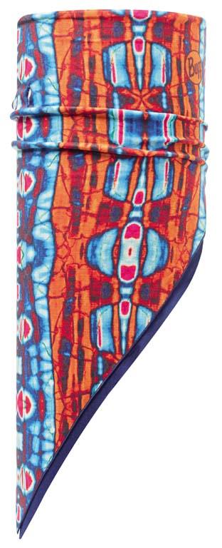 Бандана Buff Polar Neon Sides / Blue Depths, цвет: оранжевый. 111080.00. Размер универсальный111080.00Теплая бандана-шарф Polar Buff - это бандана-труба из серии Original Buff, пришитая к цилиндру из Polartec Classic Fleece 100. В холодную погоду Polar Buff поддерживает нормальную температуру тела и предотвращает потерю тепла, благодаря комбинации микрофибры и Polartec. Благодаря своей универсальности, функциональности и практичности Polar Buff завоевал огромную популярность среди людей, ее можно использовать как шапку, шарф, бандану на лицо и уши, балаклаву, маску. Неотъемлемая часть зимней одежды, подходит для любой активности в холодное время года. Размер (обхват головы): 53-62 см.