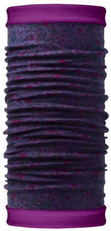 Бандана Buff Reversible Polar Idaho / Mardi Grape, цвет: фиолетовый. 107885.00. Размер универсальный107885.00Теплая бандана-шарф Polar Buff - это бандана-труба из серии Original Buff, пришитая к цилиндру из Polartec Classic Fleece 100. В холодную погоду Polar Buff поддерживает нормальную температуру тела и предотвращает потерю тепла, благодаря комбинации микрофибры и Polartec. Благодаря своей универсальности, функциональности и практичности Polar Buff завоевал огромную популярность среди людей, ее можно использовать как шапку, шарф, бандану на лицо и уши, балаклаву, маску. Неотъемлемая часть зимней одежды, подходит для любой активности в холодное время года. Размер (обхват головы): 53-62 см.