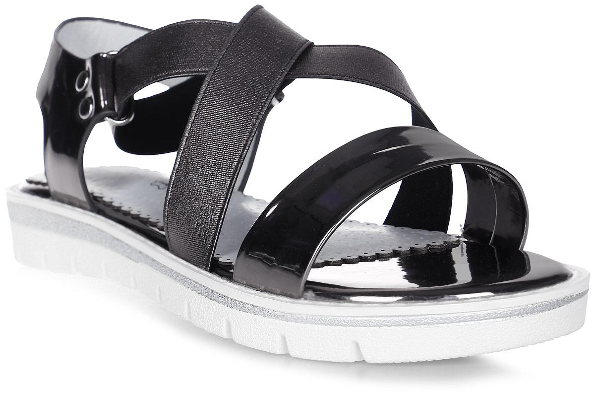 Сандалии для девочки Indigo Kids, цвет: бронзовый. 21-305A/12. Размер 3321-305A/12Модные сандалии от Indigo Kids очень удобны и невероятно легки, они придутся по душе вашей девочке и идеально подойдут для повседневной носки в летнюю погоду! Модель выполнена из натуральной и искусственной кожи, оформлена ремешком с застежкой на резинке, позволяющей регулировать обхват по размеру. Подошва с рифлением гарантирует отличное сцепление с любой поверхностью.Каждое движение в этой обуви приносит радость и удовольствие.