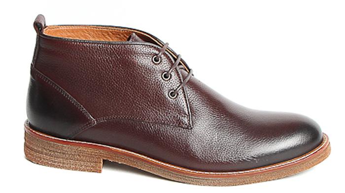 Ботинки мужские Milana, цвет: коричневый. 172820-6-123V. Размер 40172820-6-123VСтильные ботинки Milana - отличный вариант на каждый день. Модель выполнена из натуральной кожи. Изделие оформлено классической шнуровкой, которая надежно фиксирует модель на ноге. Ультрамодные ботинки не оставят вас незамеченным!
