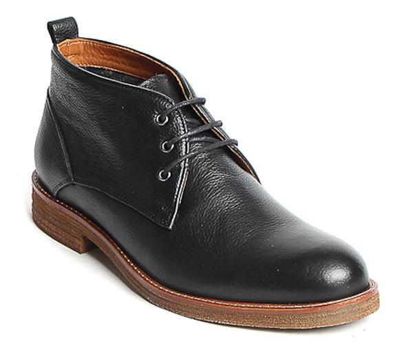 Ботинки мужские Milana, цвет: черный. 172820-6-110V. Размер 39172820-6-110VСтильные ботинки Milana - отличный вариант на каждый день. Модель выполнена из натуральной кожи. Изделие оформлено классической шнуровкой, которая надежно фиксирует модель на ноге. Ультрамодные ботинки не оставят вас незамеченным!