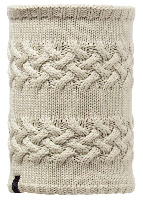 Шарф Buff Neckwarmer Knitted&Polar Fleece Sarva, цвет: кремовый. 101061/344606. Размер универсальный101061/344606В холодную погоду шарф Polar Buff поддерживает нормальную температуру тела и предотвращает потерю тепла, благодаря комбинации микрофибры и Polartec. Благодаря своей универсальности, функциональности и практичности Polar Buff завоевал огромную популярность. Неотъемлемая часть зимней одежды, подходит для любой активности в холодное время года.