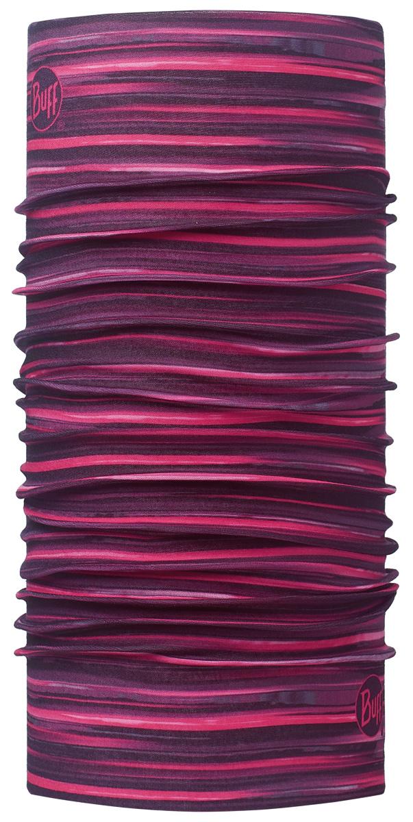 Шарф Buff Original Alyssa Pink, цвет: фиолетовый. 113089.538.10.00. Размер универсальный113089.538.10.00Buff - это оригинальные, мультифункциональные, бесшовные головные уборы - удобные и комфортные для любого вида активного отдыха и спорта. Оригинальные, потому что Buff был и является первым в мире брендом мультифункциональных, бесшовных и универсальных головных уборов. Мультифункциональные, потому что их можно носить самыми разными способами: как шарф, как шапку, как балаклаву, косынку, бандану, маску, напульсник и многими другими - решает ваша фантазия! Универсальный головной убор, который можно носить более чем двенадцатью способами, который можно использовать при занятии любым видом спорта, езде на велосипеде и мотоцикле, катаясь или бегая на лыжах, и даже как аксессуар в городской одежде. Бесшовные, благодаря эластичности, позволяющей использовать эти головные уборы как угодно и не беспокоиться о том, что кожа может быть натерта или раздражена швами.