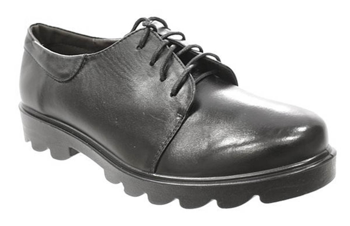 Полуботинки женские Camidy, цвет: черный. 4041-1. Размер 364041-1Стильные женские полуботинки Camidy - отличный вариант на каждый день. Модель выполнена из натуральной кожи. Изделие оформлено классической шнуровкой, которая надежно фиксирует модель на ноге. Ультрамодные полуботинки не оставят вас незамеченной!