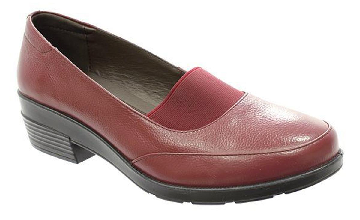 Туфли женские Camidy, цвет: бордовый. 4026-2. Размер 374026-2Стильные женские туфли Camidy - отличный вариант на каждый день. Модель выполнена из натуральной кожи. Изделие оснащено удобным каблуком.