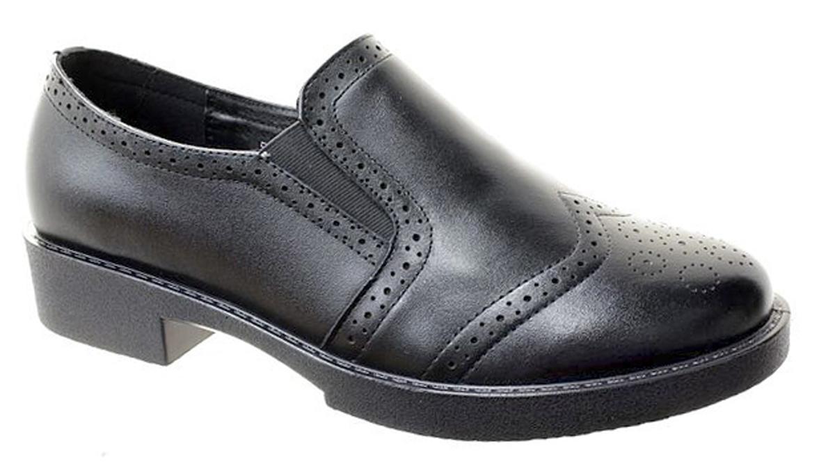 Туфли женские Camidy, цвет: черный. 5064-1. Размер 365064-1Стильные женские туфли Camidy - отличный вариант на каждый день. Модель выполнена из натуральной кожи. Изделие оснащено удобным каблуком.
