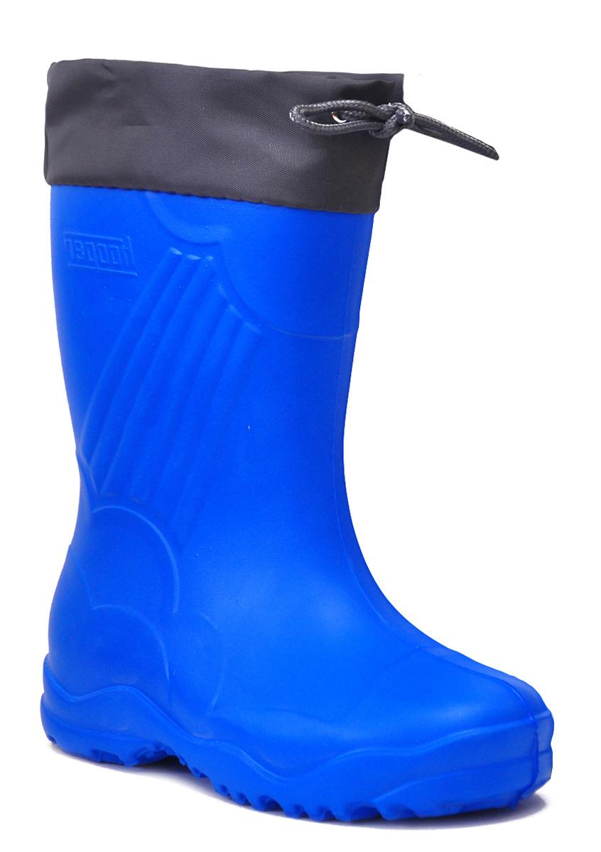 Резиновые сапоги для мальчика Nordman, цвет: синий. 149122-01. Размер 27/28149122-01Резиновые сапоги для мальчика Nordman - идеальная обувь в дождливую погоду. Сапоги выполнены из качественной резины. Подкладка, выполненная из текстиля, подарит ощущение комфорта вашему ребенку. Текстильный верх голенища регулируется в объеме за счет шнурка со стоппером. Резиновые сапожки прекрасно защитят ножки вашего ребенка от промокания в дождливый день.