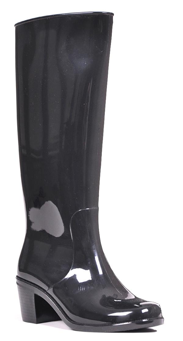 Резиновые сапоги женские Nordman, цвет: черный. ПС 20 МЛ. Размер 39ПС 20 МЛЖенские резиновые сапоги Nordman изготовлены из глянцевого водонепроницаемого материала. Подкладка из мягкого искусственного меха для комфортного ношения в холодное время года. Сбоку на голенище предусмотрена молния. Каблук выполнен из прочного полимера, который обеспечивает устойчивость и защищен от истирания.