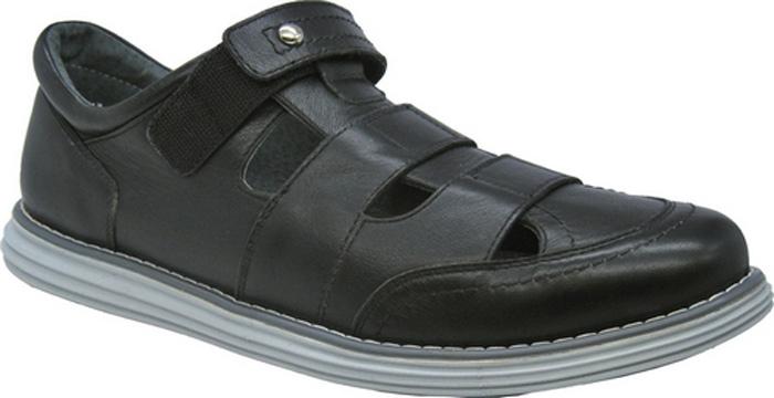 Полуботинки для мальчиков Зебра, цвет: черный. 11796-1. Размер 4011796-1