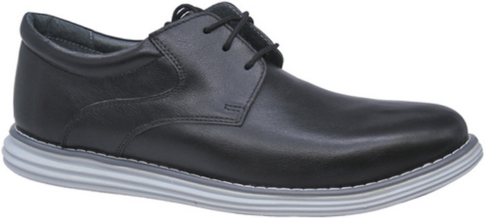 Полуботинки для мальчика Зебра, цвет: черный. 11800-1. Размер 3811800-1Стильные полуботинки от бренда Зебра займут достойное место среди коллекции обуви вашего мальчика. Модель выполнена из гладкой натуральной кожи. Подъем дополнен шнуровкой, которая надежно зафиксирует обувь на ноге. Внутренняя поверхность и стелька, изготовленные из натуральной кожи, обеспечат ногам комфорт и уют. Подошва из легкого ТЭП-материала с рифлением гарантирует отличное сцепление с любой поверхностью. Модные полуботинки придутся по душе вашему мальчику.