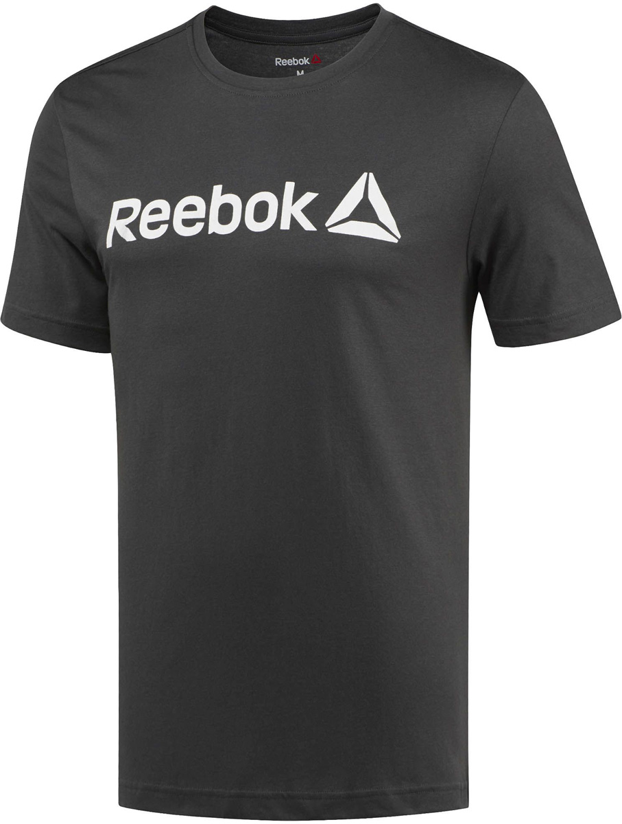 Футболка для фитнеса муж Reebok Delta Read Tee- Lat, цвет: черный. BR5584. Размер S (44/46)BR5584Ты верен своему стилю и ценишь комфорт. Качество для тебя на первом месте. И ты считаешь, что классика всегда актуальна. Эта футболка из 100% хлопка – то, что тебе нужно. Простой принт в виде надписи Reebok скажет все без лишних слов.Материал: 100% хлопок, одинарное джерси для мягкостиОблегающий крой повторяет каждое движениеКлассический круглый воротКороткий рукавНадпись Reebok спереди