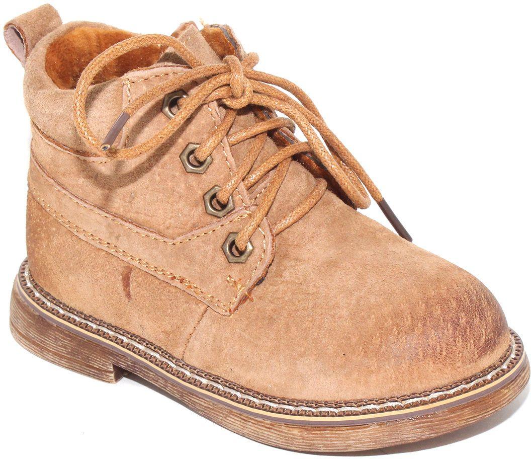 Ботинки для мальчика Капитошка, цвет: песочный. F7777. Размер 24F7777Модные ботинки от Капитошка придутся по душе вам и вашему мальчику! Модель выполнена из натуральной кожи и оформлена градиентным эффектом на мысе. Ярлычок на заднике предназначен для удобства обувания. Шнуровка прочно зафиксирует изделие на ноге. Резиновая подошва стилизована под дерево.Удобные ботинки - необходимая вещь в гардеробе каждого ребенка.