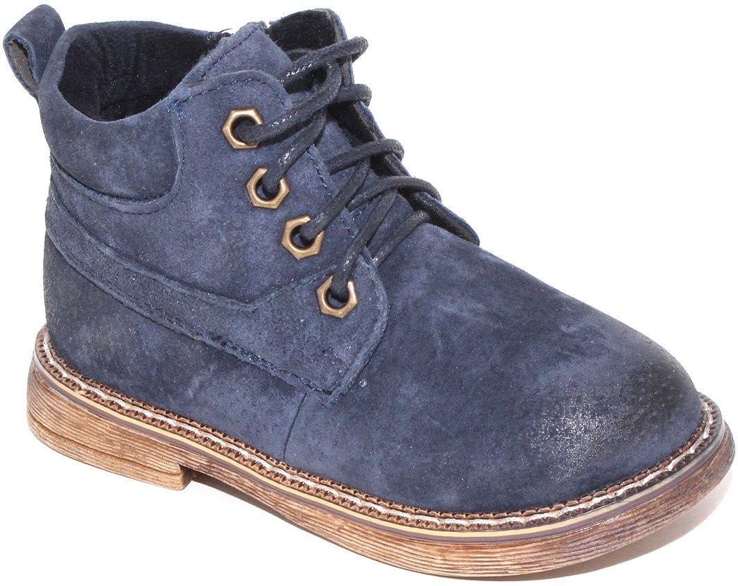 Ботинки для мальчика Капитошка, цвет: синий. F7776. Размер 24F7776Модные ботинки от Капитошка придутся по душе вам и вашему мальчику! Модель выполнена из натуральной кожи и оформлена градиентным эффектом на мысе. Ярлычок на заднике предназначен для удобства обувания. Шнуровка прочно зафиксирует изделие на ноге. Резиновая подошва стилизована под дерево.Удобные ботинки - необходимая вещь в гардеробе каждого ребенка.