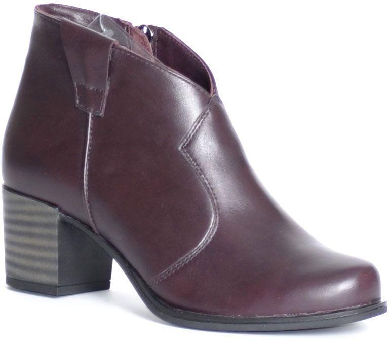 Ботинки женские Francesco Donni, цвет: бордовый. F2F4 BZ863-03F08. Размер 38F2F4 BZ863-03F08Стильные ботинки Francesco Donni выполнены из высококачественной натуральной кожи. Застежка-молния надежно зафиксируют модель на ноге. Стелька и внутренняя поверхность из байки обеспечивают максимальный комфорт при движении. Подошва с рифлением обеспечивает идеальное сцепление с любыми поверхностями. Такие чудесные ботинки займут достойное место в вашем гардеробе.