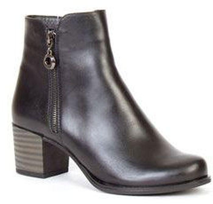 Ботинки женские Francesco Donni, цвет: черный. F2N4 BZ779-02F08. Размер 37F2N4 BZ779-02F08