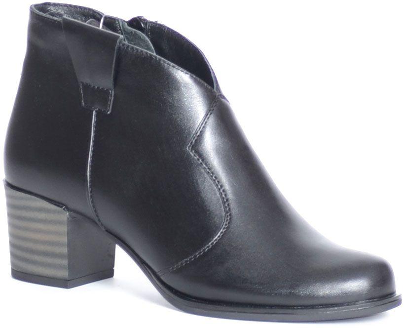 Ботинки женские Francesco Donni, цвет: черный. F2N4 BZ863-02F08. Размер 36F2N4 BZ863-02F08Стильные ботинки Francesco Donni выполнены из высококачественной натуральной кожи. Застежка-молния надежно зафиксируют модель на ноге. Стелька и внутренняя поверхность из байки обеспечивают максимальный комфорт при движении. Подошва с рифлением обеспечивает идеальное сцепление с любыми поверхностями. Такие чудесные ботинки займут достойное место в вашем гардеробе.