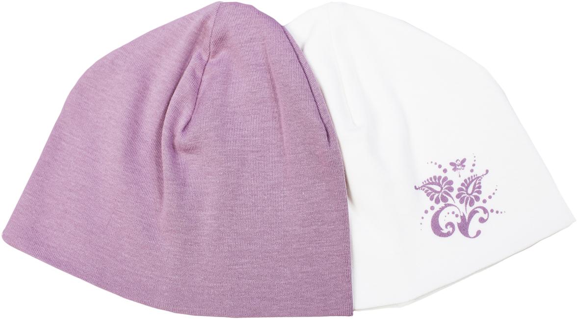 Шапочка для девочки Мамуляндия Ноктюрн, цвет: молочный, розовый, 2 шт. 17-4019. Размер 52, рост 8617-4019Шапочка для девочки Мамуляндия Ноктюрн выполнена из натурального хлопка. Шапочка необходима любому младенцу, она защищает еще не заросший родничок, щадит чувствительный слух малыша, прикрывая ушки, а также предохраняет от теплопотери. Комплект состоит из двух шапочек, одна из которых оформлена гипоаллергенным принтом на водной основе.