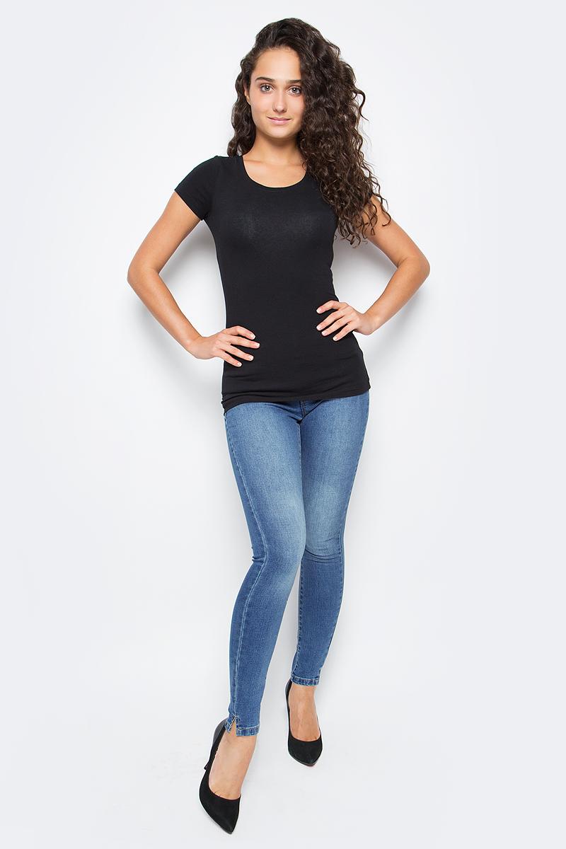Джинсы женские Only, цвет: темно-синий. 15138623_Dark Blue Denim. Размер 27-34 (42/44-34)15138623_Dark Blue DenimСтильные женские джинсы выполнены из качественного материала.Застегиваются джинсы на металлическую пуговицу в поясе и ширинку на застежке-молнии, имеются шлевки для ремня. Спереди модель дополнена двумя втачными карманами и небольшим секретным кармашком, а сзади - двумя накладными карманами.Эти модные и в тоже время комфортные джинсы послужат отличным дополнением к вашему гардеробу. В них вы всегда будете чувствовать себя уютно и комфортно.