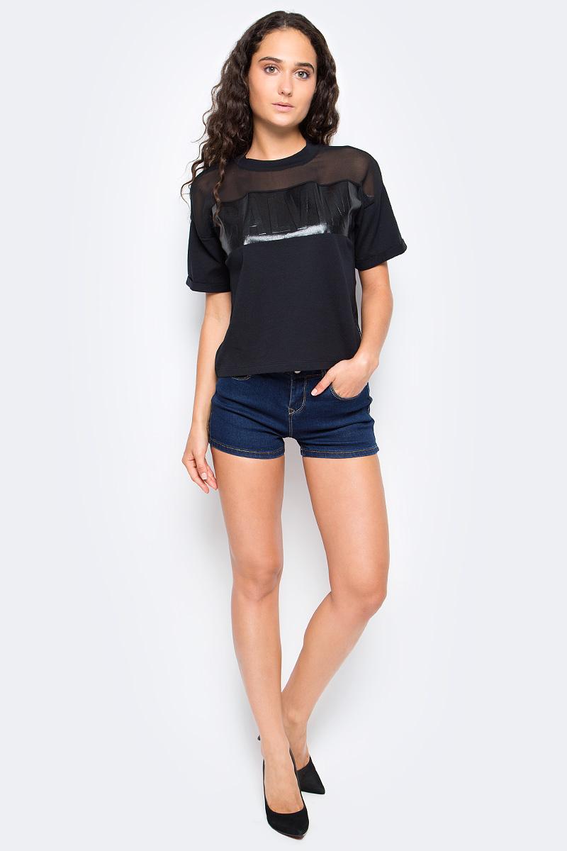Шорты женские Top Secret, цвет: синий. SSZ0815NI. Размер 38 (46)SSZ0815NIЖенские джинсовые шорты Top Secret выполнены из эластичного хлопка. Модель классического пятикарманного кроя в поясе застегивается на пуговицу, имеются ширинка на молнии и шлевки и для ремня.