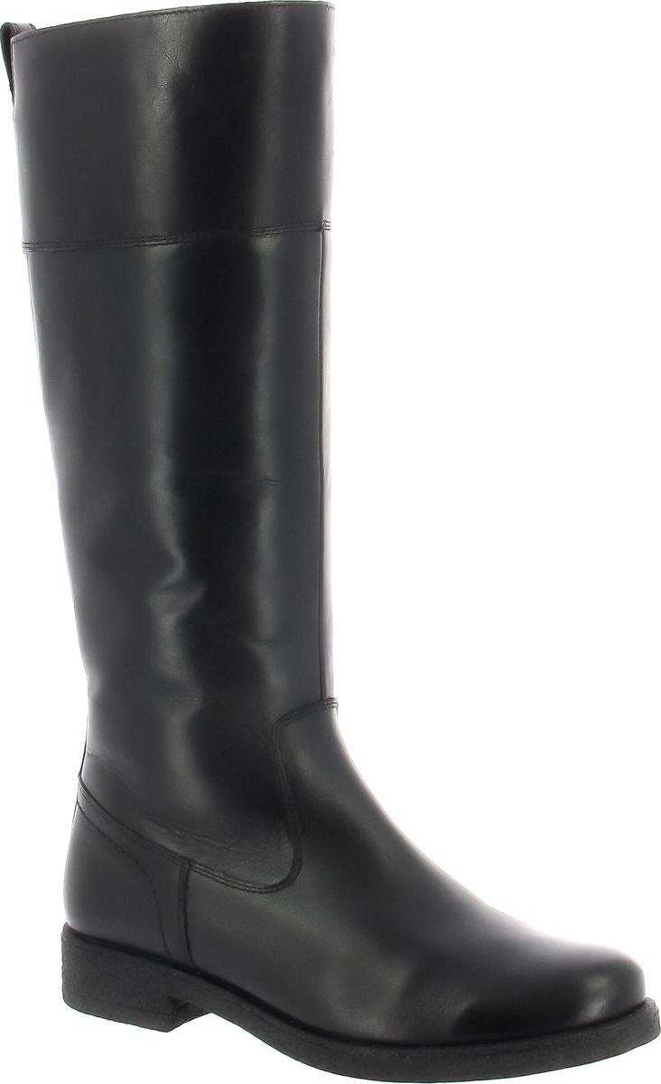 Сапоги женские Ralf Ringer Alva, цвет: черный. 945403ЧЛЧ. Размер 40945403ЧЛЧКлассические сапоги дополнят ваш элегантный образ. Модель выполнена из натуральной кожи. С внутренней стороны сапога расположена застежка-молния. Мягкая подкладка и стелька из натурального меха не позволят ножкам замерзнуть в холодную погоду. Удобный каблук и подошва из материала ТЭП обеспечат комфортное передвижение в течение дня.