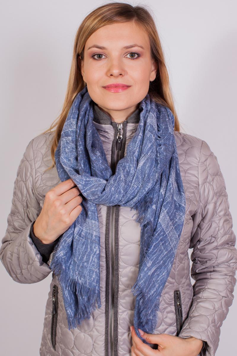Палантин женский Sophie Ramage, цвет: голубой, серый. FT-21737-1. Размер 90 см х 180 смFT-21737-1Палантин Sophie Ramage выполнен из 100% модала. Материал мягкий и приятный на ощупь. Модель дополнена оригинальным принтом и бахромой по краю. Элегантный палантин Sophie Ramage станет достойным завершением вашего образа.