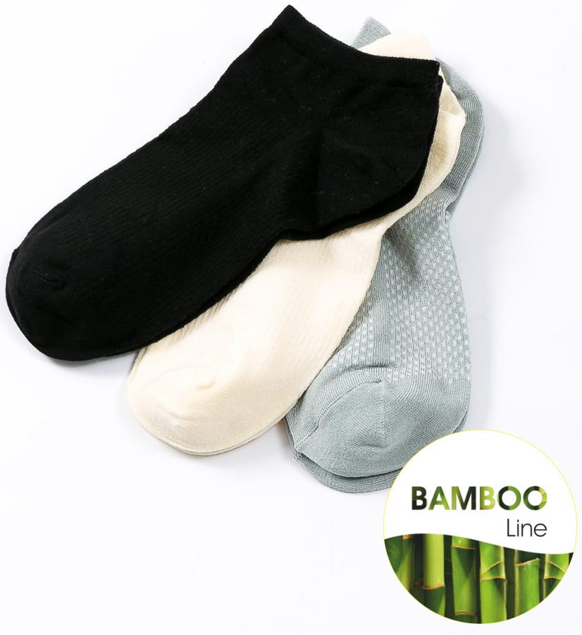 Носки женские Mark Formelle, цвет: светло-серый, 3 пары. 308A-346. Размер 23308A-346Удобные женские носки Mark Formelle изготовлены из бамбукового волокна с добавлением полиамида и эластана. Эластичная резинка плотно облегает ногу, не сдавливая ее, обеспечивая комфорт и удобство, а усиленные пятка и мысок обеспечивают надежность и долговечность при носке.
