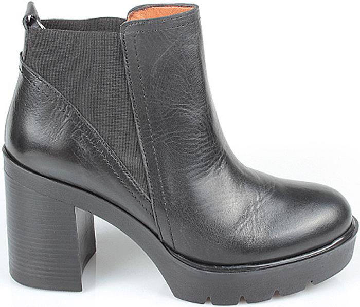 Ботильоны женские El Tempo, цвет: черный. EMA23_116_BLACK. Размер 35EMA23_116_BLACK