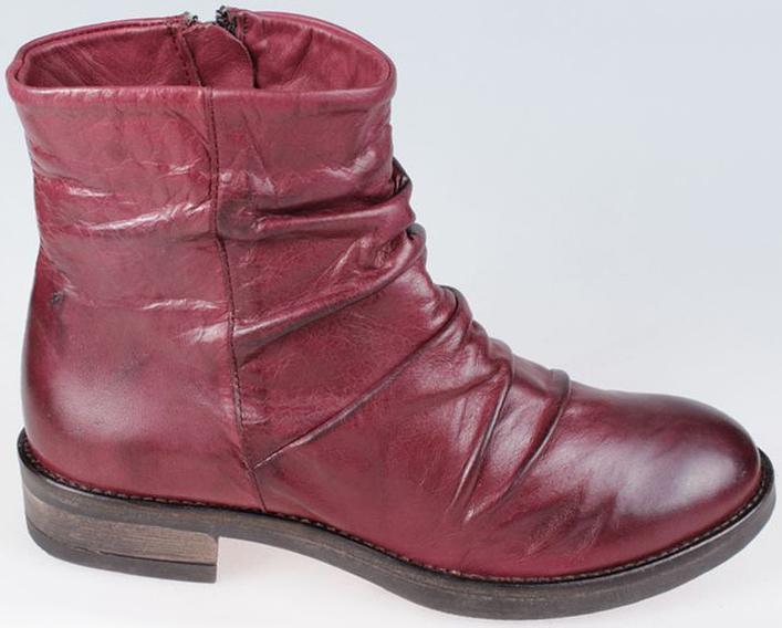 Ботинки женские El Tempo, цвет: бордовый. PSX5_5082_BORDEAUX. Размер 40PSX5_5082_BORDEAUX