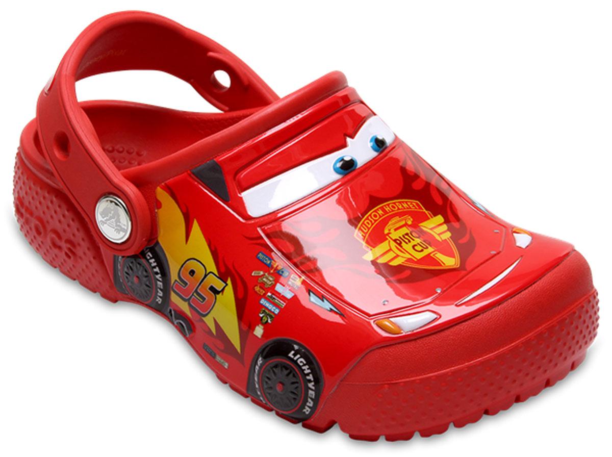Сабо детские Crocs FunLab Cars Clog K, цвет: красный. 204116-8C1. Размер C9 (26)204116-8C1