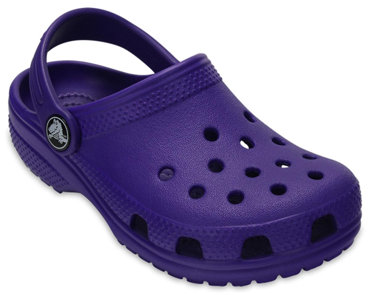 Сабо детские Crocs Classic Clog K, цвет: фиолетовый. 204536-506. Размер C9 (26)204536-506