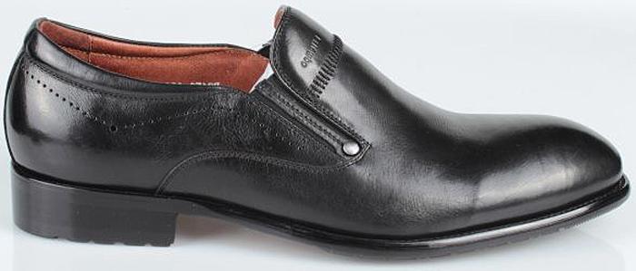Полуботинки мужские El Tempo, цвет: черный. CCH37_159-909-1_BLACK. Размер 41CCH37_159-909-1_BLACK