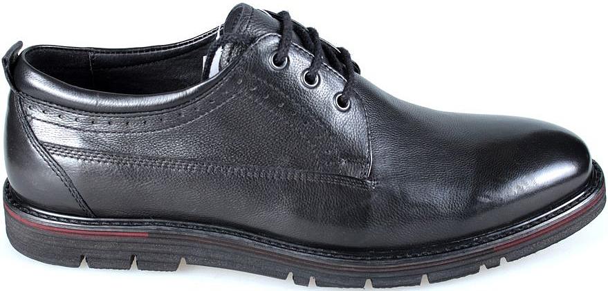 Полуботинки мужские El Tempo, цвет: черный. CG113_1179-04A_BLACK. Размер 41CG113_1179-04A_BLACK