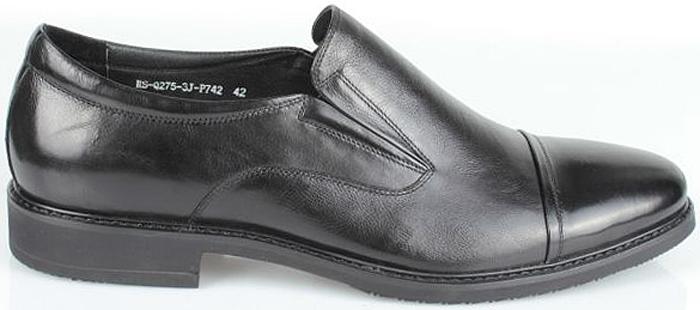Полуботинки мужские El Tempo, цвет: черный. CRS79_275-3-742_BLACK. Размер 44CRS79_275-3-742_BLACK