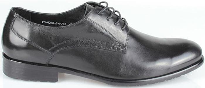 Полуботинки мужские El Tempo, цвет: черный. CRS80_265-6-P742_BLACK. Размер 44CRS80_265-6-P742_BLACK