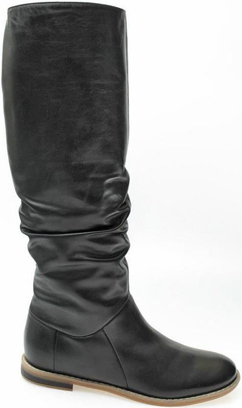 Сапоги женские El Tempo, цвет: черный. RT1_6662-06222-0_BLACK. Размер 38RT1_6662-06222-0_BLACKМодные сапоги El Tempo займут достойное место в вашем гардеробе. Модель выполнена из натуральной кожи. Модные сапоги - незаменимая вещь в гардеробе любой женщины.
