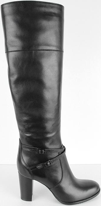 Сапоги женские El Tempo, цвет: черный. RT4_4690-046902-4_BLACK. Размер 37RT4_4690-046902-4_BLACKСапоги от El Tempo выполнены из высококачественной натуральной кожи. Модель на застежке-молнии. Модель декорирована ремешками с металлическими пряжками. Подкладка и стелька изготовлены из шерсти. Подошва из прочной резины оснащена рифлением.