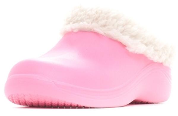 Галоши женские ANRA, цвет: светло-розовый. 210 ЖУ. Размер 36/37210 ЖУЖенские галоши от Anra выполнены из ЭВА. Модель с закрытым округлым мыском и открытой пяткой утеплена искусственным мехом.