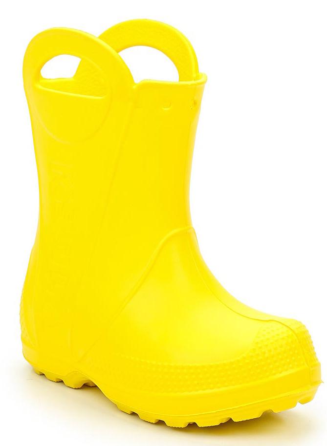 Сапоги резиновые для девочки Каури, цвет: желтый. 790. Размер 22/23790Сапожки детские из ЭВА.