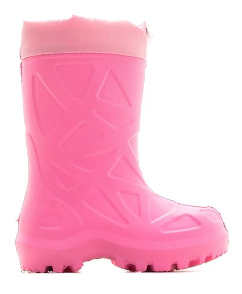 Сапоги резиновые для девочки Каури, цвет: светло-розовый. 491 НУ. Размер 29/30491 НУСапожки детские из ЭВА утепленные.